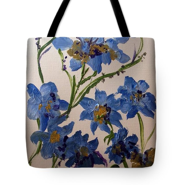 Cornflowers Cousins Tote Bag