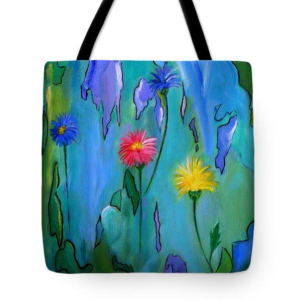 Cornflowers Tote Bag