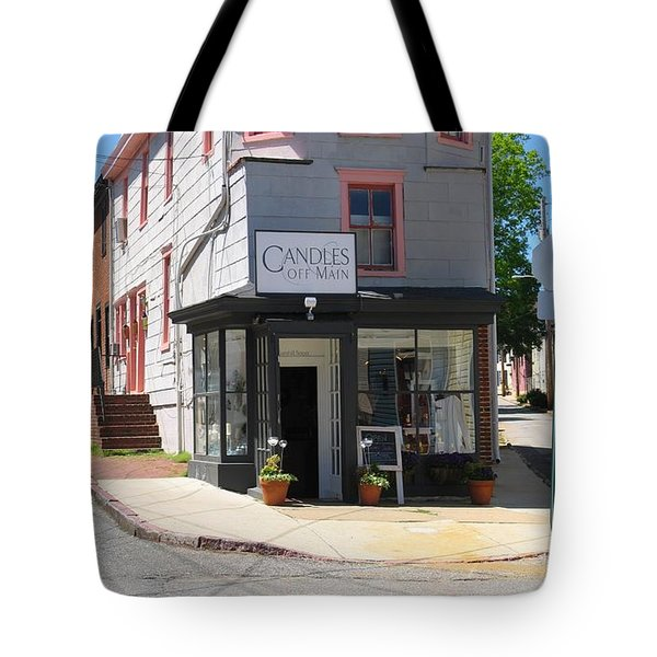 Cornhill And Fleet Tote Bag