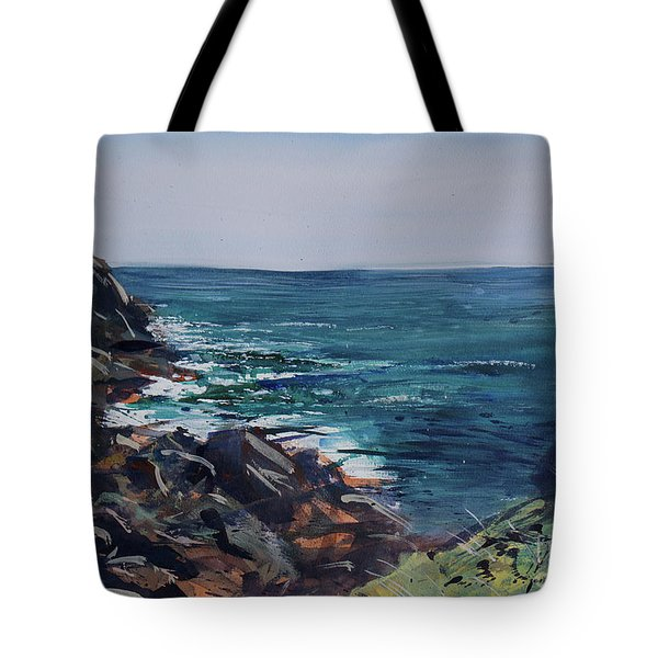 Cornish Clffs Tote Bag