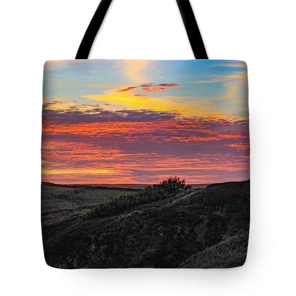 Cornish Sunset  Tote Bag