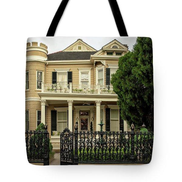 Cornstalk Fence Tote Bag