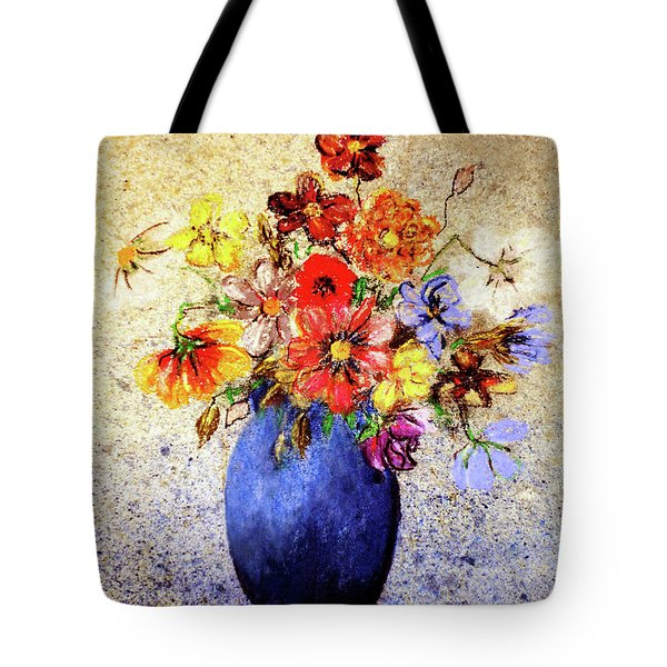 Cornucopia-still Life Painting By V.kelly Tote Bag