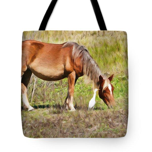 Corolla's Wild Horses Tote Bag