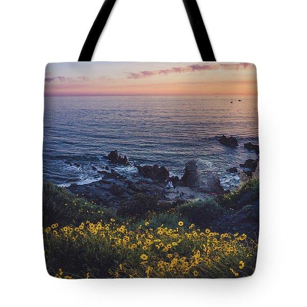 Corona Del Mar Super Bloom Tote Bag