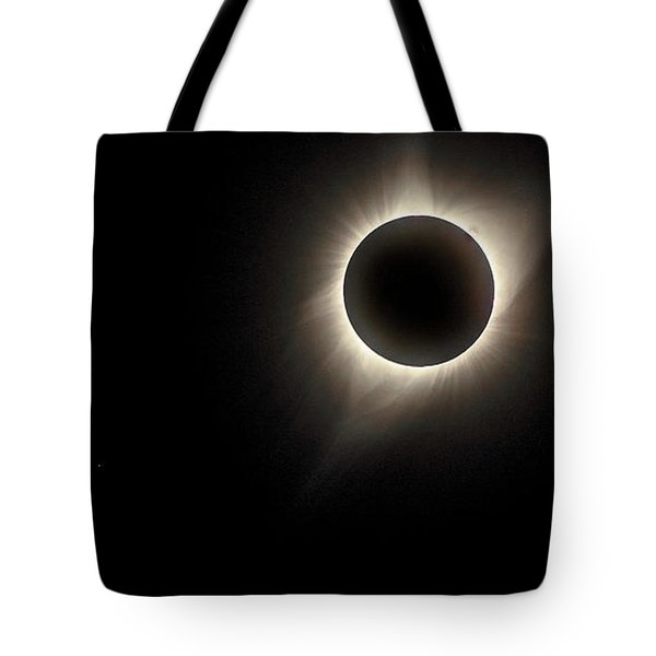 Tote Bag featuring the photograph Corona by Rikk Flohr