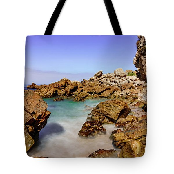 Corona Tide Pools Tote Bag by Jeremy Farnsworth