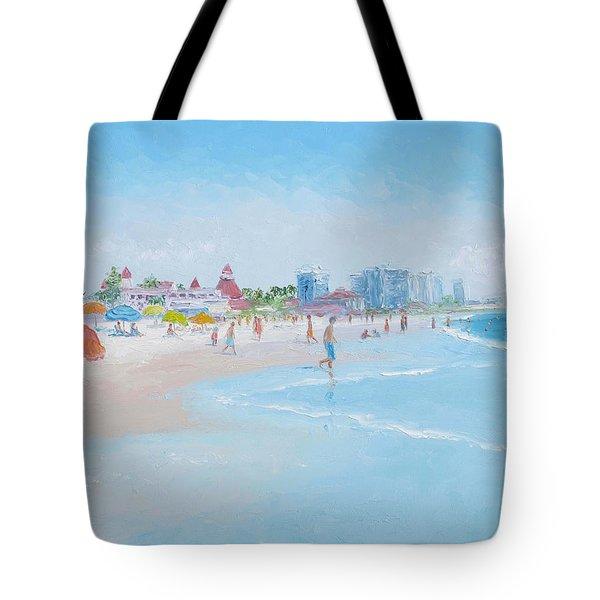 Coronado Beach San Diego Tote Bag