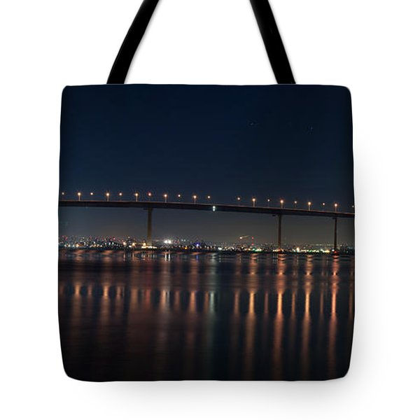 Coronado Bridge San Diego Tote Bag