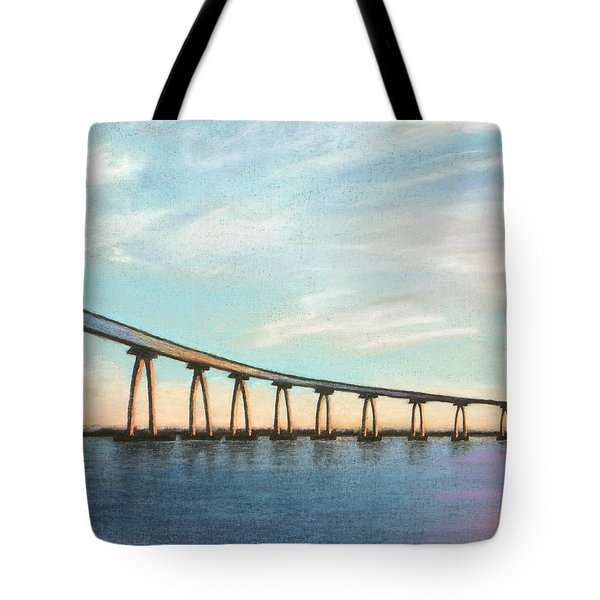 Coronado Bridge Sunset A Tote Bag