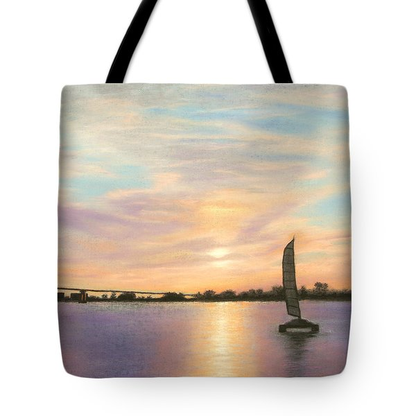 Coronado Bridge Sunset  B Tote Bag