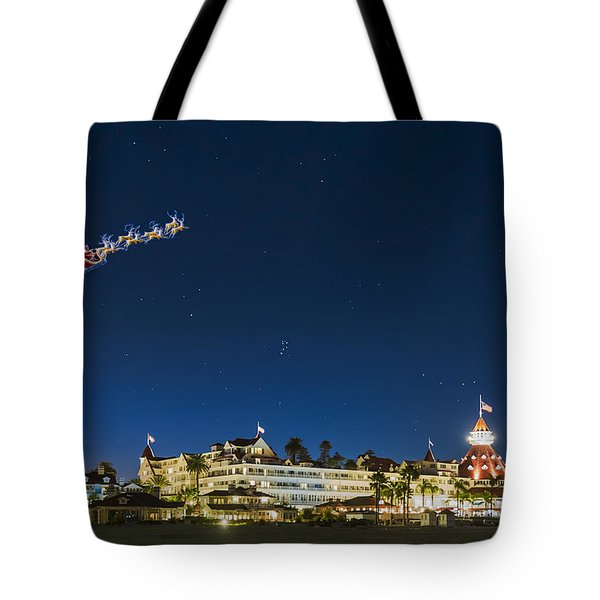 Coronado Christmas Tote Bag