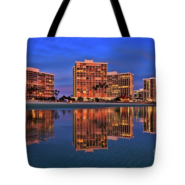 Coronado Glass Tote Bag