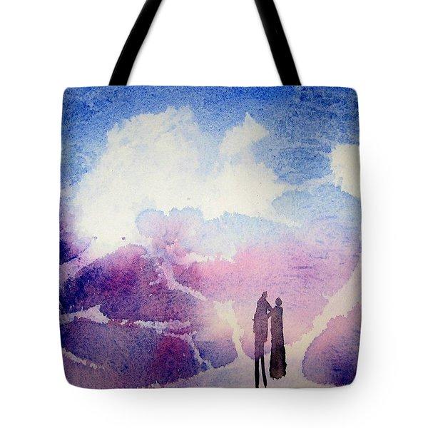 Coronado Island Wedding Tote Bag by Anne Duke