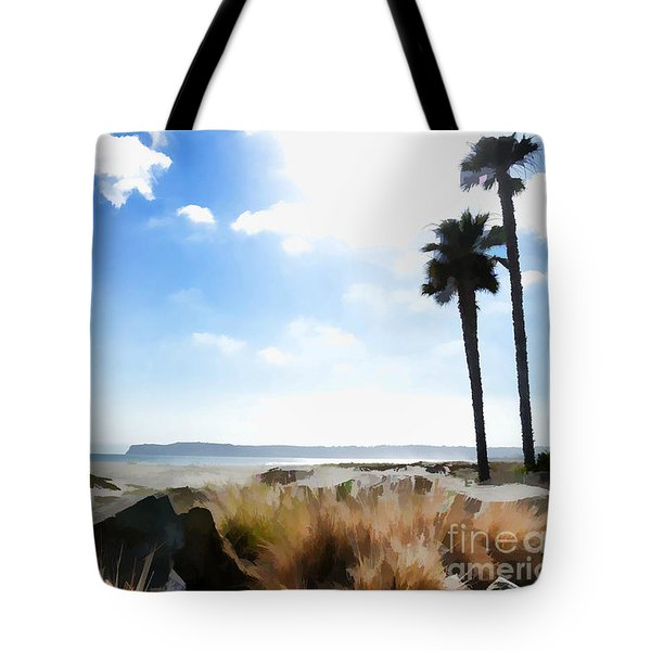 Coronado - Digital Painting Tote Bag