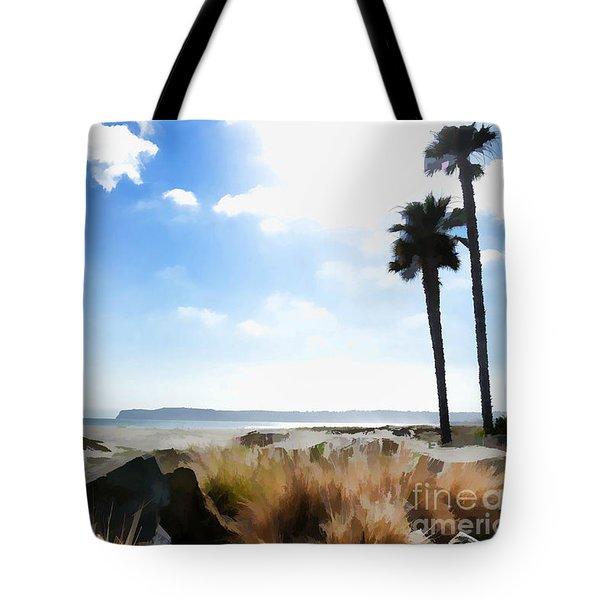 Coronado - Digital Painting Tote Bag
