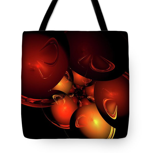 Coronal Mass Ejections Tote Bag by Jeremy Nicholas