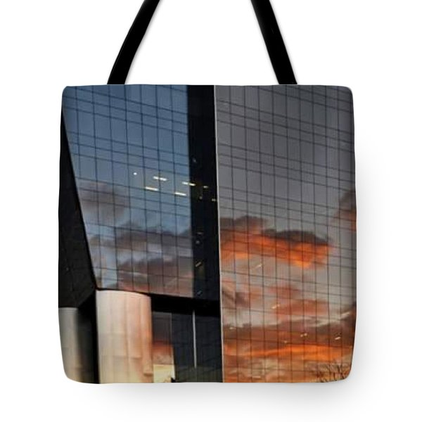 #corporative #architecture At Dusk Tote Bag by Carlos Alkmin