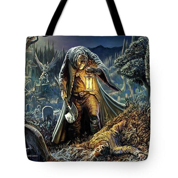 Corpse Taker Tote Bag
