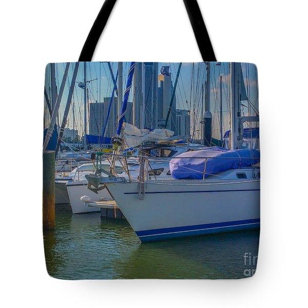 Corpus Christi Marina Tote Bag