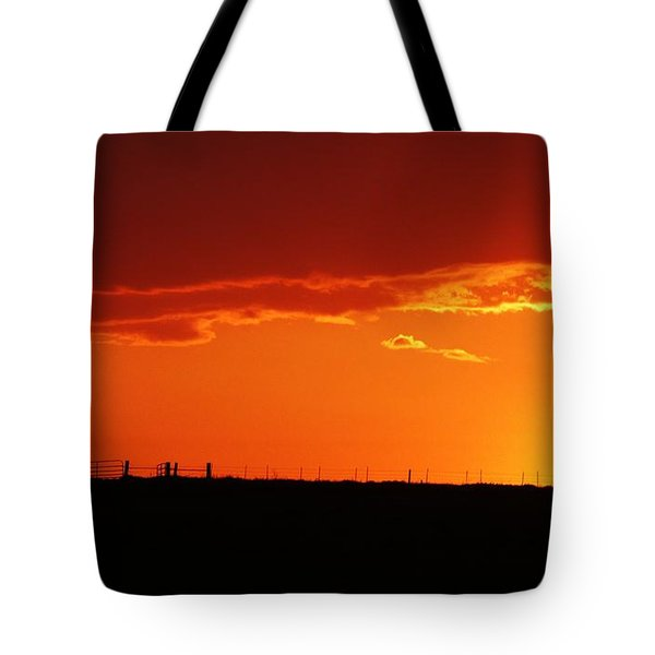 Corral Silhouette  Tote Bag by J L Zarek