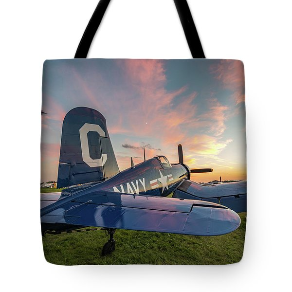 Corsair Sunset Tote Bag