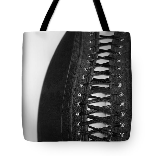 Tote Bag featuring the photograph Corset #20080 by Andrey  Godyaykin