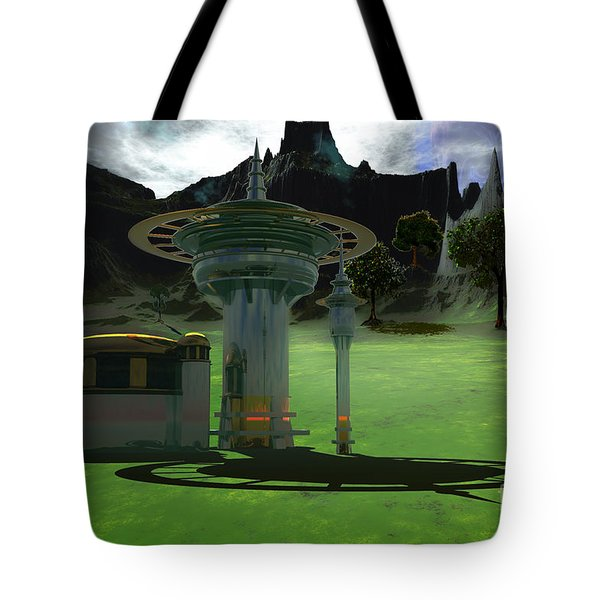 Corsicadian Tote Bag by Corey Ford
