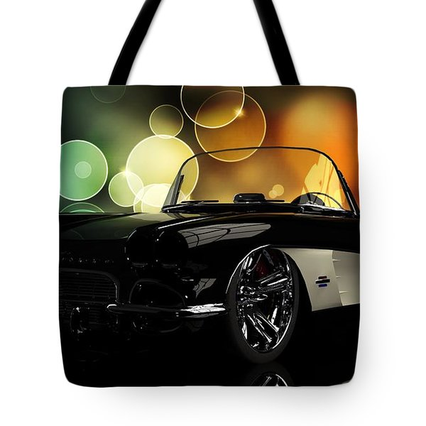 Corvette 1961 Tote Bag
