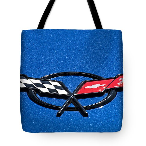 Corvette Blue Tote Bag