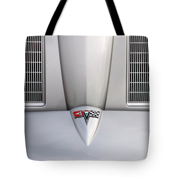 Corvette Hood Tote Bag