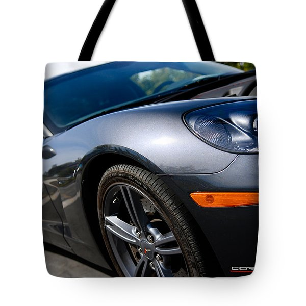 Corvette Racing Tote Bag