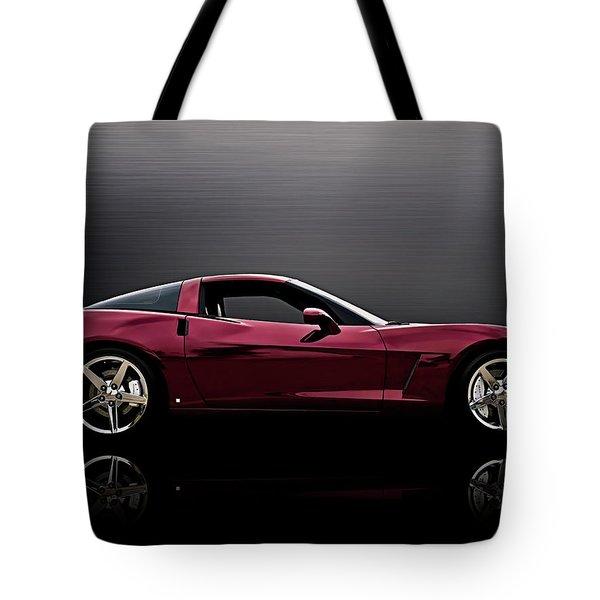 Corvette Reflections Tote Bag by Douglas Pittman