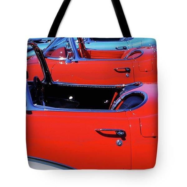 Corvette Row Tote Bag