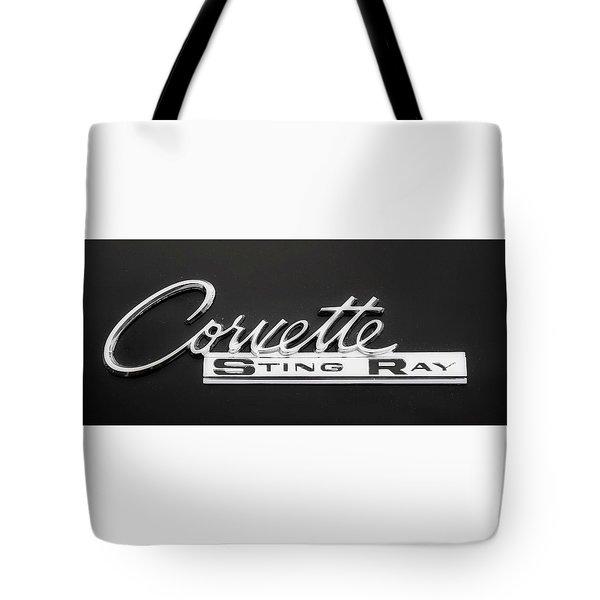 Corvette Sting Ray  Tote Bag