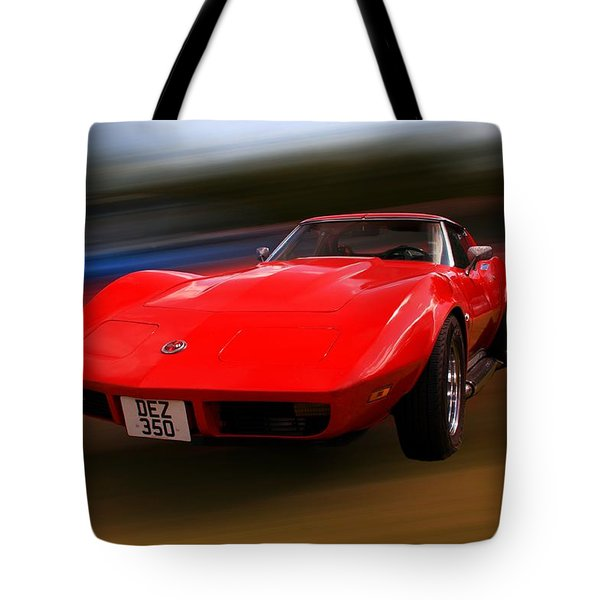 Corvette Stingray Tote Bag