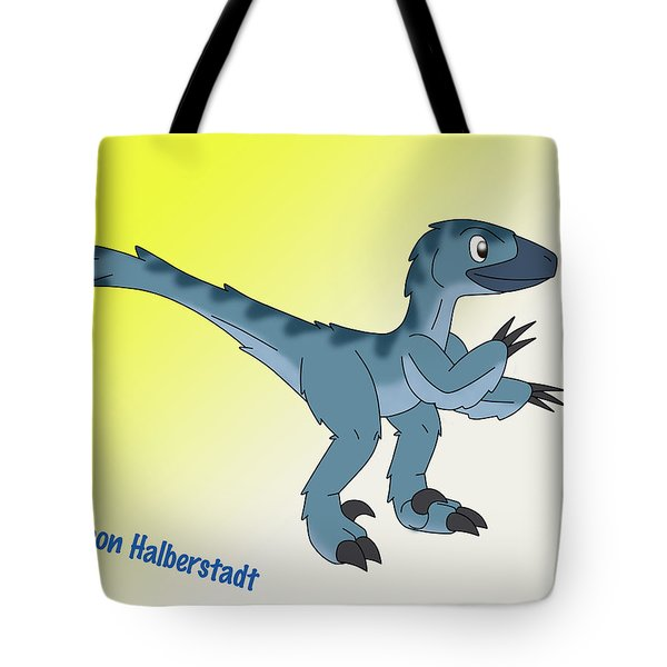 Cory The Raptor Tote Bag