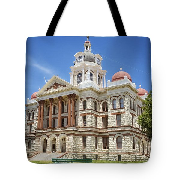 Coryell County Courthouse Tote Bag