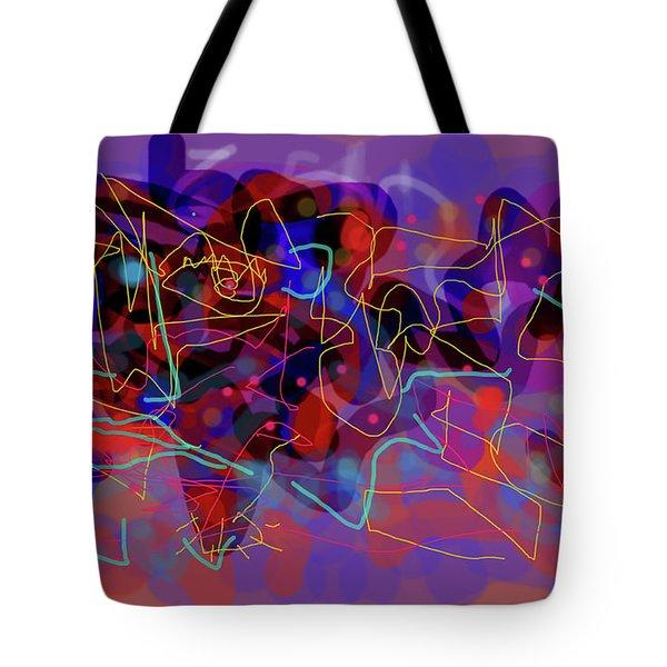 Cosmic Beast Tote Bag