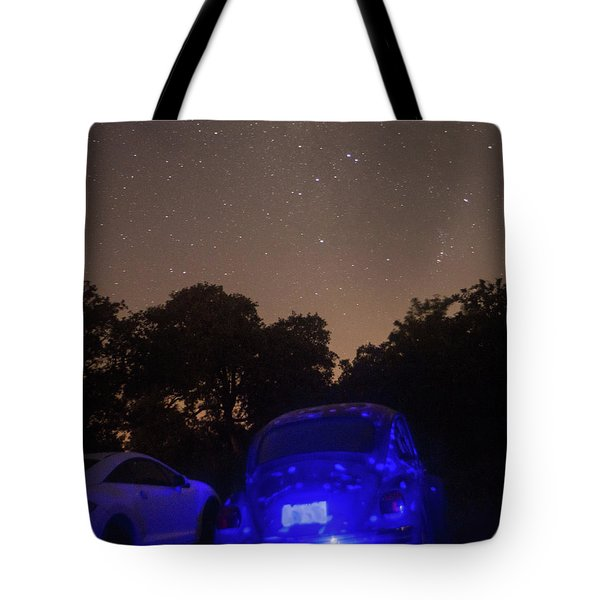 Cosmic Beetle 7 Tote Bag