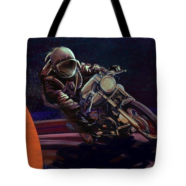 Cosmic Cafe Racer Tote Bag