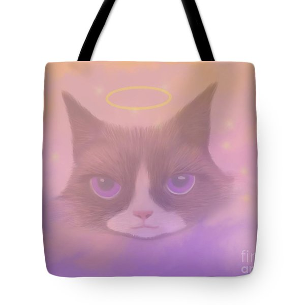 Cosmic Cat Tote Bag