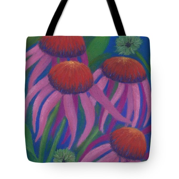 Cosmic Coneflowers Tote Bag