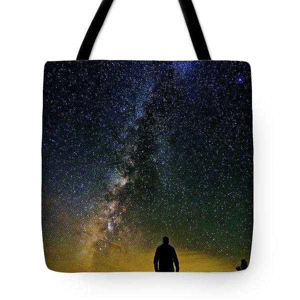 Cosmic Contemplation Tote Bag