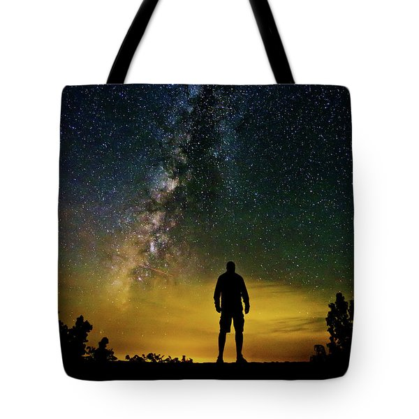 Cosmic Contemplation Tote Bag