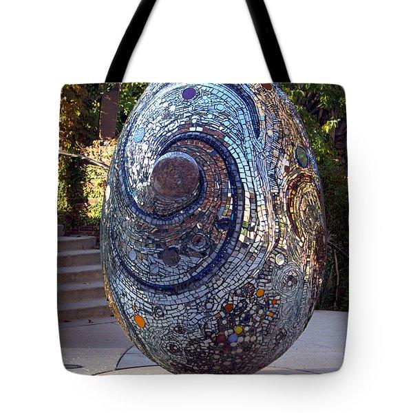 Cosmic Egg Tote Bag by Joseph Skompski