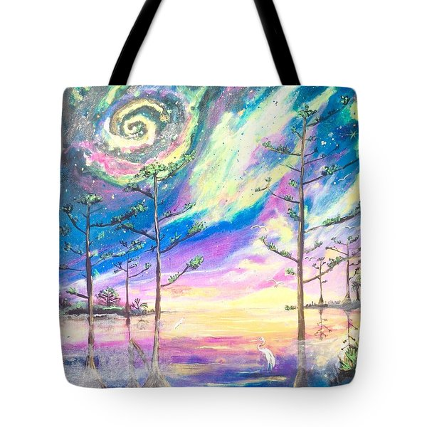 Cosmic Florida Tote Bag