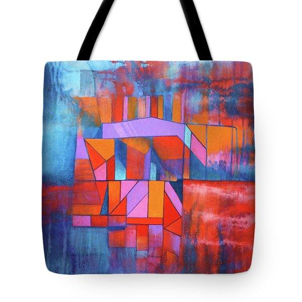 Cosmic Garage Tote Bag by J W Kelly
