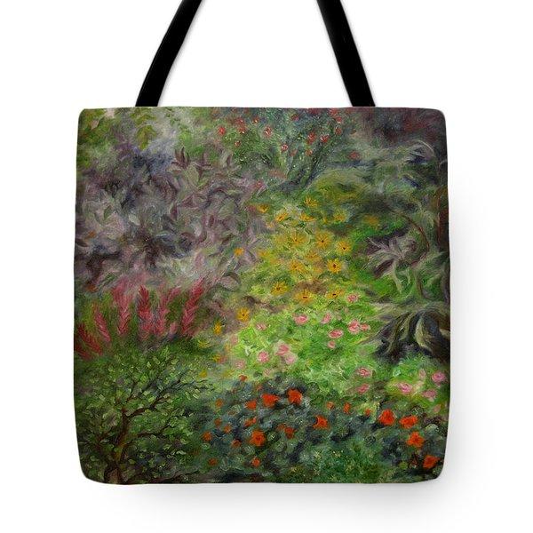 Cosmic Garden Tote Bag