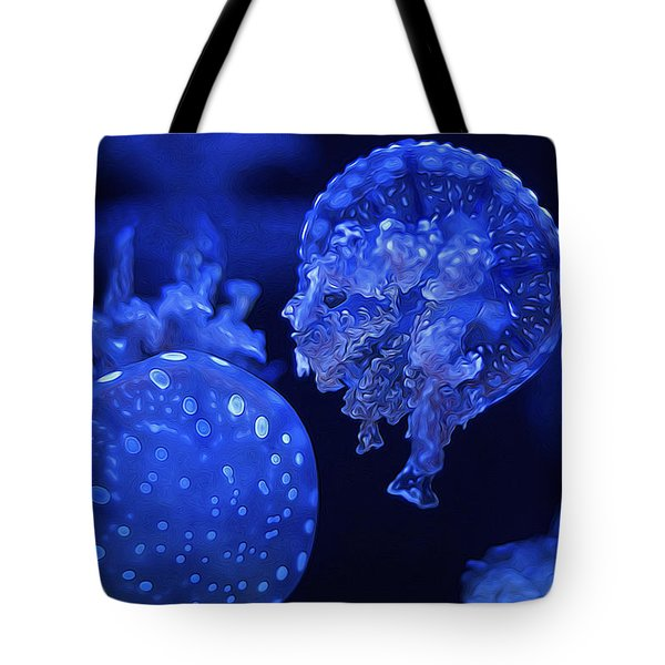 Cosmic Jellyfish 3 Tote Bag